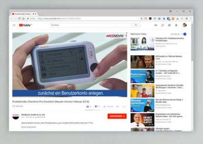 Produktvideo Checkme Pro