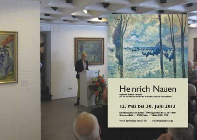 Heinrich Nauen - Kunstausstellung im Städtischen Museum Kalkar