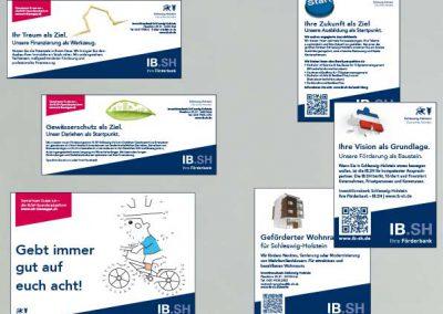 Anzeigenmotive der IB.SH